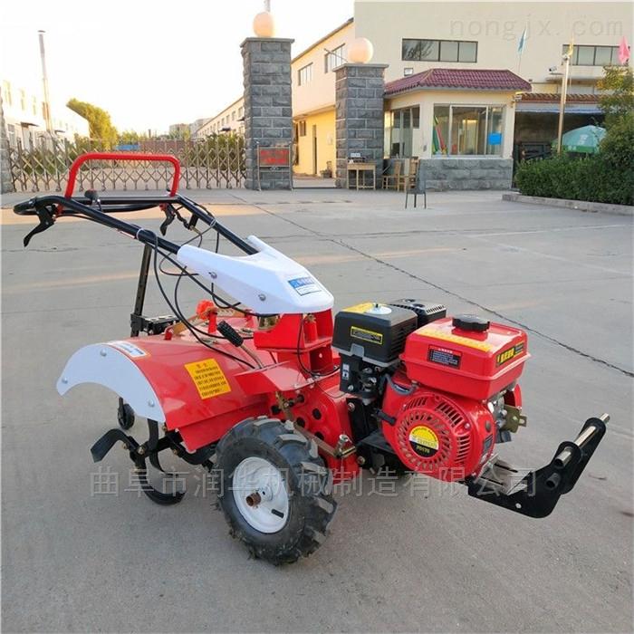 汽油四驅輕便微耕機 菜園整耕自走式旋耕機