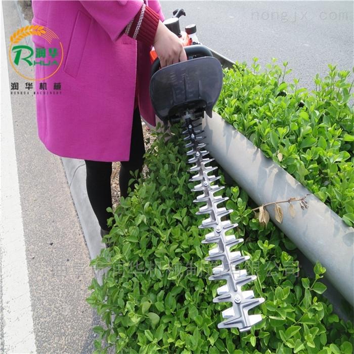 绿化带修剪绿篱机 高温不熄火汽油剪枝机