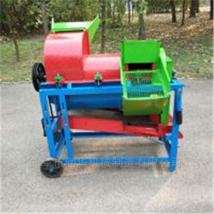 柴油动力稻麦脱粒机 125型玉米高粱打粒机