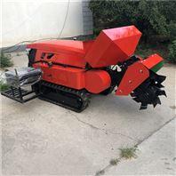加重果农休息力开沟机 履带多用施肥旋耕机