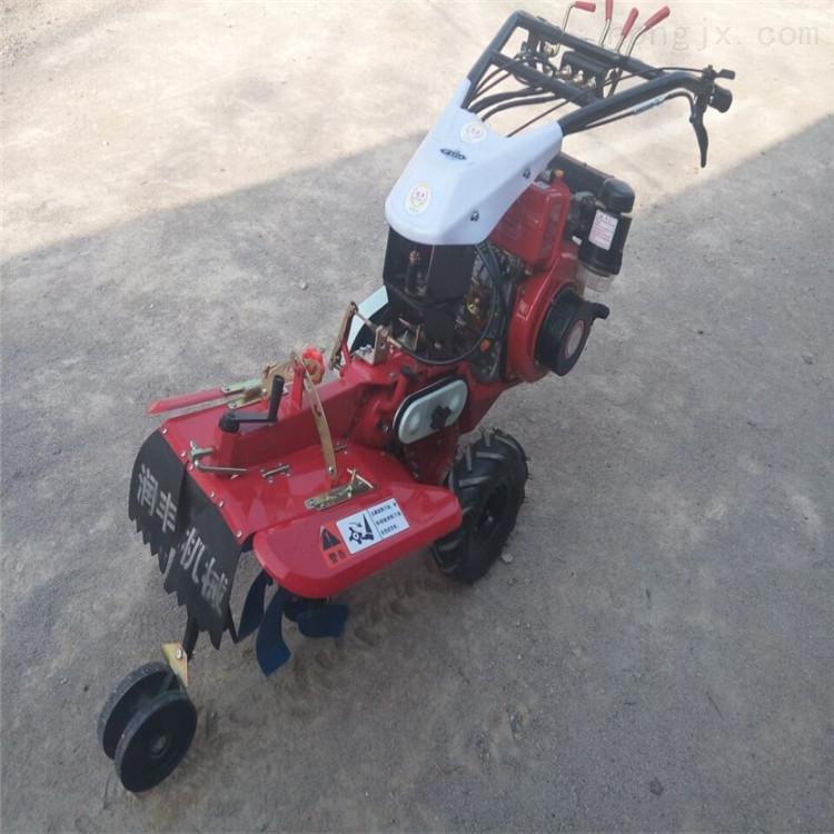 小型大葱开沟培土机 柴油自走开沟机