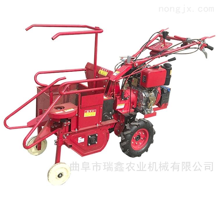 安徽热销手扶式小型玉米联合收割机