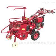安徽熱銷手扶式小型玉米聯合收割機
