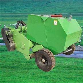xnjx-dkbmj四轮麦草捡拾打捆机 饲料粉碎包膜机