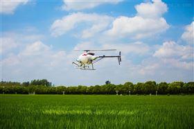 飞防作业航拍直升机