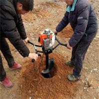 快速汽油挖坑机 大棚埋桩打坑机 种植挖洞机