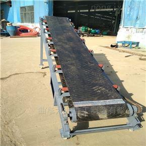 砾石用耐磨带式输送机 爬坡式槽型皮带机Lj1