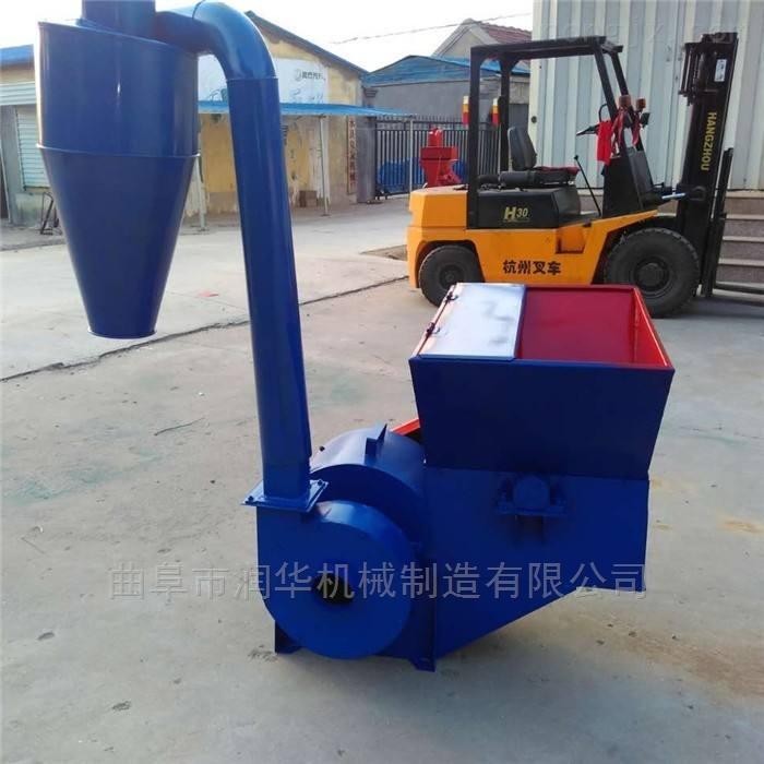 RH-FSJ-500-牛羊青储草料粉碎机 饲养场多功能粉草机