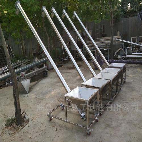 尿素颗粒螺旋提升机 不锈钢材质上料机 Lj1