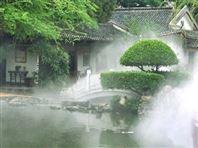 深圳园科公园景观造雾喷雾设备