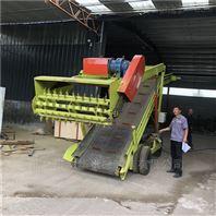 牧场移动方便的青贮取料机 发酵青储取草机