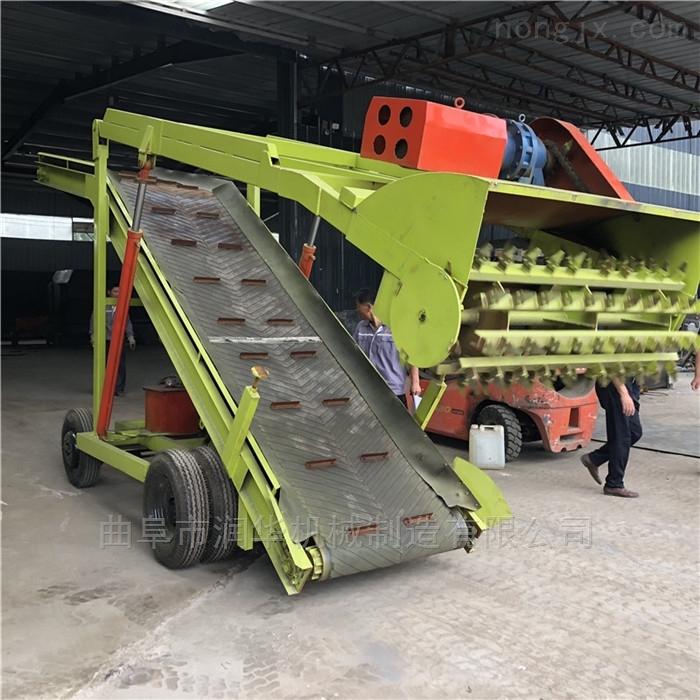 RH-QLJ-7-青储池稻草饲料取料机 养牛场窖储取草机