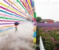 庭院花园喷雾造景系统 景区水雾景观人造雾