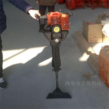 新疆农用汽油手提式移苗挖树机