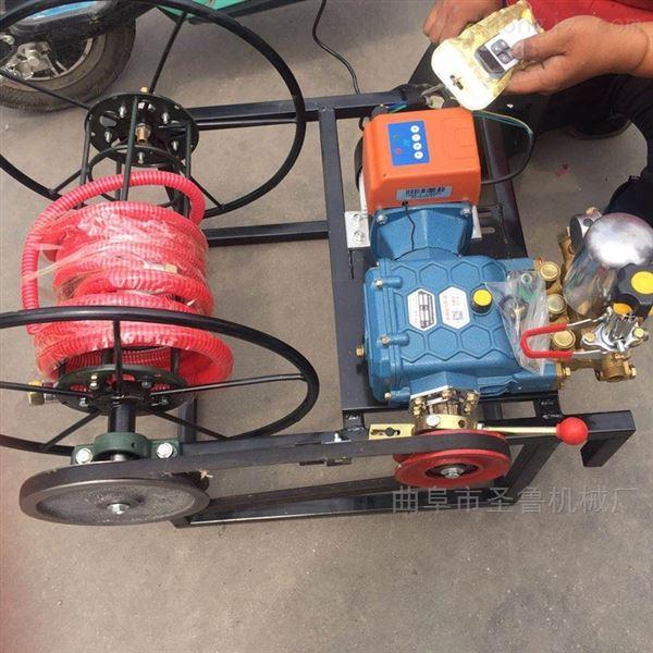 电动遥控喷雾打药机自动卷管