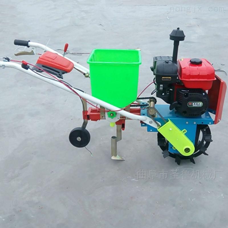 汽油自走式施肥播种机