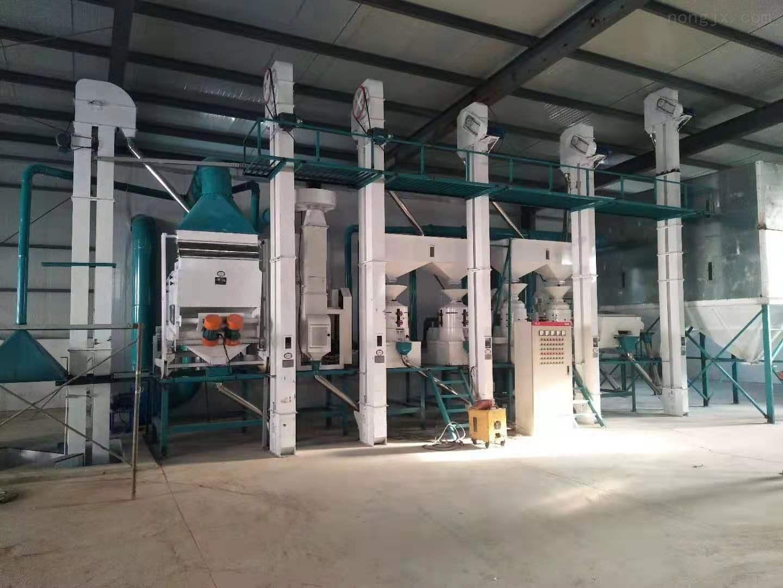新型日产10-150吨成套大米加工设备