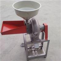 自吸式玉米磨粉机小麦脱皮磨面机
