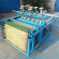 植被保温绿化草毡机 麦秸草苫机电动草帘机