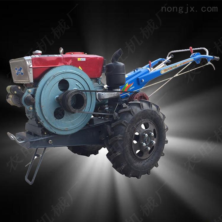 大马力农用手扶拖拉机 小型手扶式开沟机 多功能手扶旋耕机