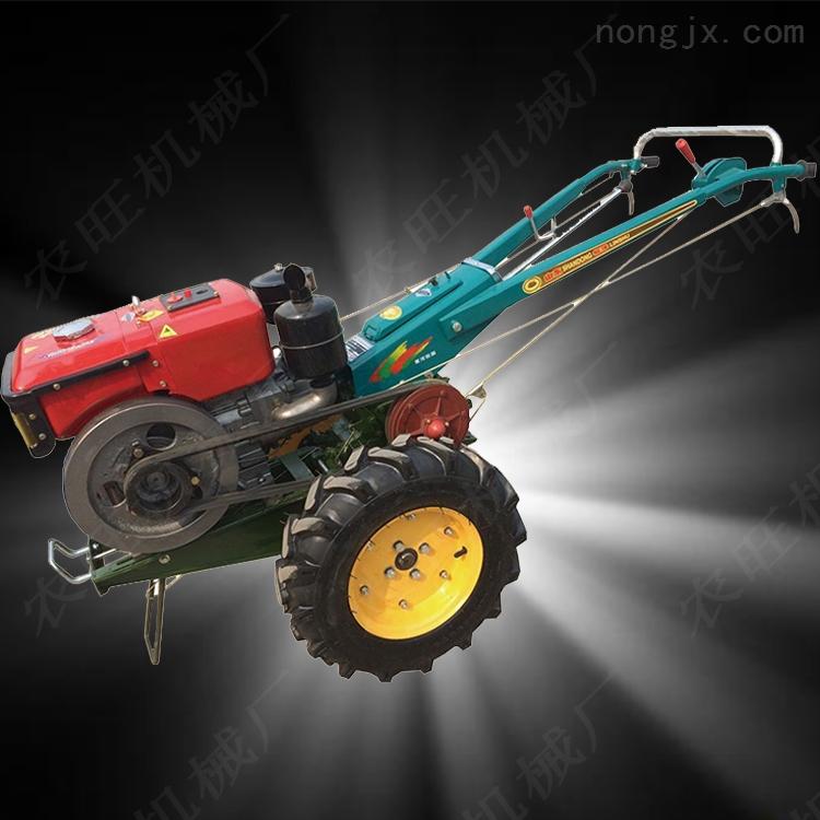 大马力手扶拖拉机旋耕机 手扶拖拉机开沟机 柴油手扶打田机