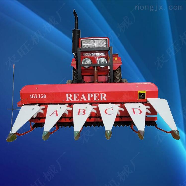 水稻小麥辣椒收割機 小型荊芥割曬機 家用玉米秸稈割曬機