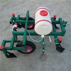SL FMJ新型手扶喷药地膜履盖机四轮土豆覆膜机