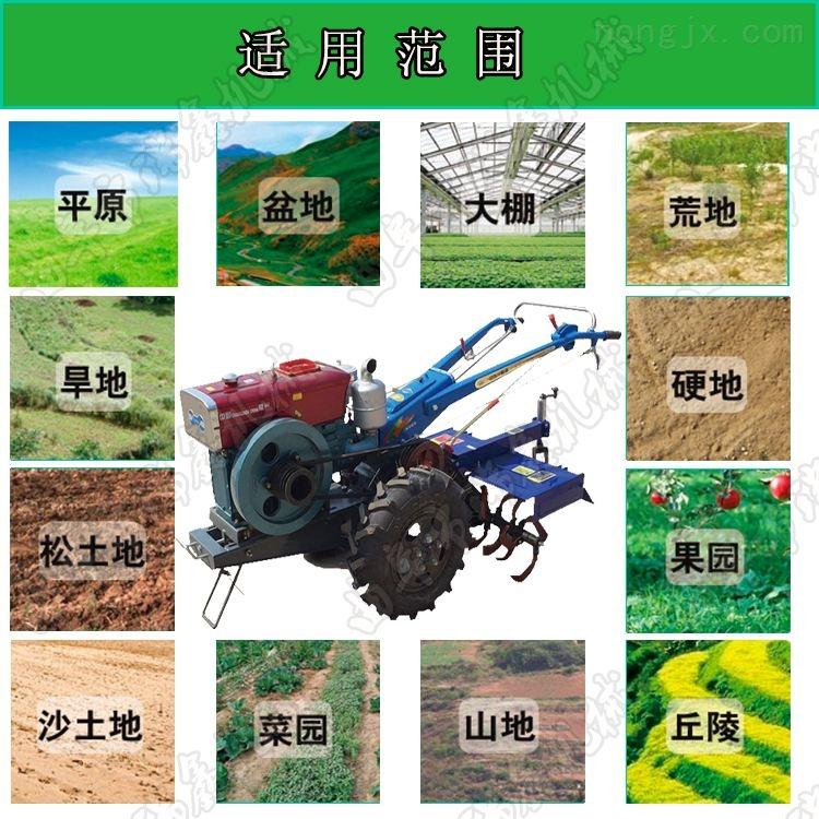 犁地旋耕開溝播種施肥機器