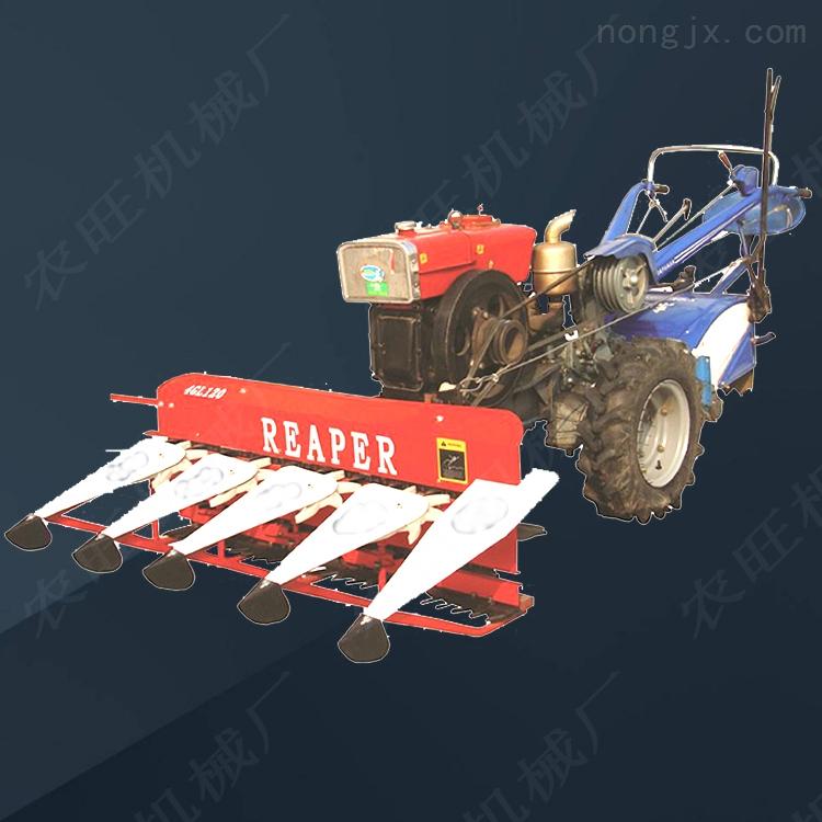 农用水稻割晒机 自走式割晒机割台