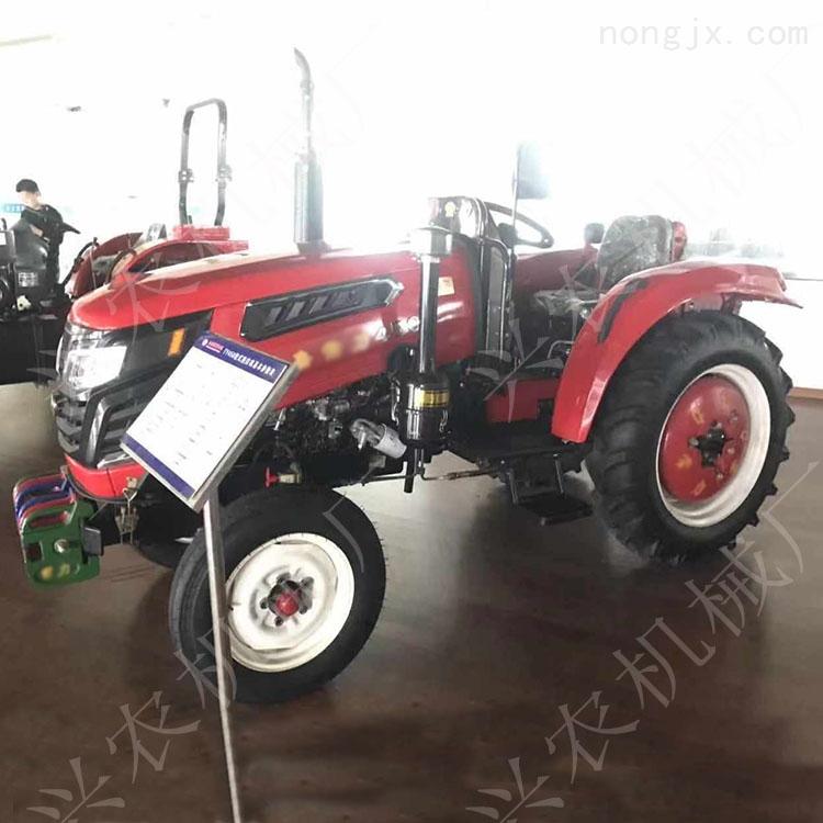 四轮四驱多缸拖拉机 果园旋耕犁地机