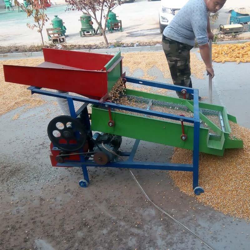 大豆玉米小麦清选机 电动粮食筛选机