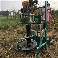 山地栽树汽油钻洞机 树木莳植打坑机厂家