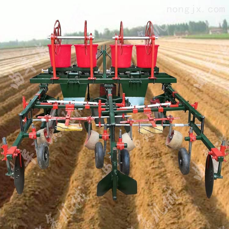 紅薯起壟施肥覆膜機