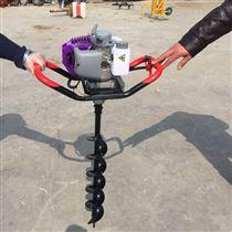 手扶式挖窝机汽油独轮挖坑机