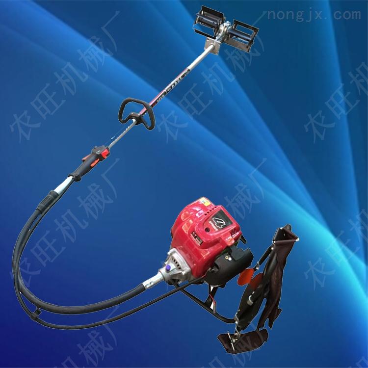 小型便携式割草机 背负式汽油除草机