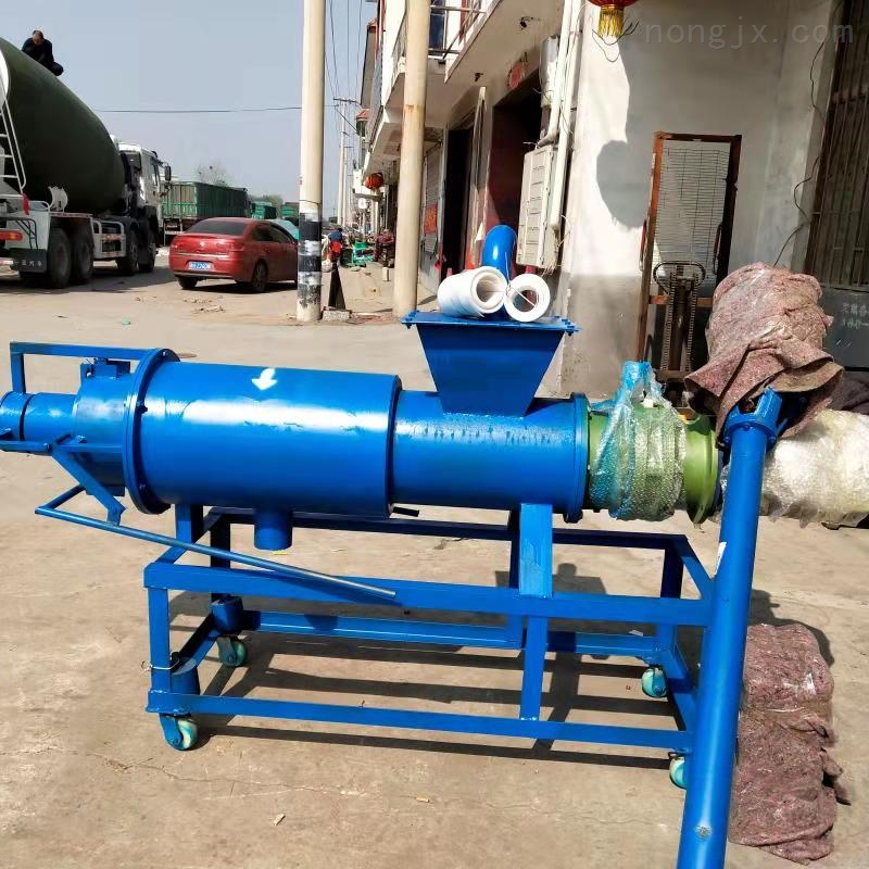 立式污水泵分离机 环保粪便机 固液水挤干机