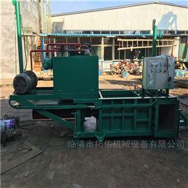 ZYD-100丽江市青储秸秆压块机 液压秸秆打包机价格