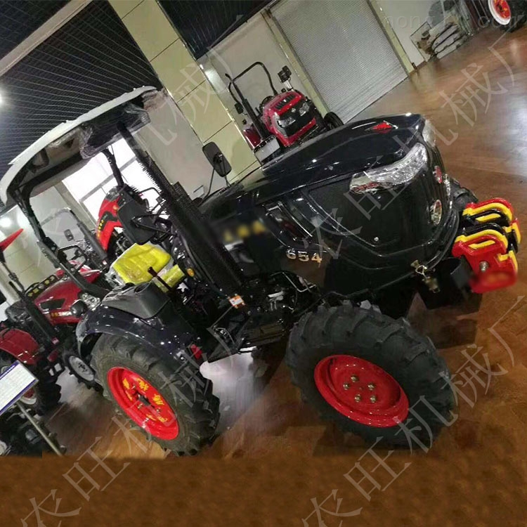 农用单缸四驱拖拉机 454四轮农用旋耕机