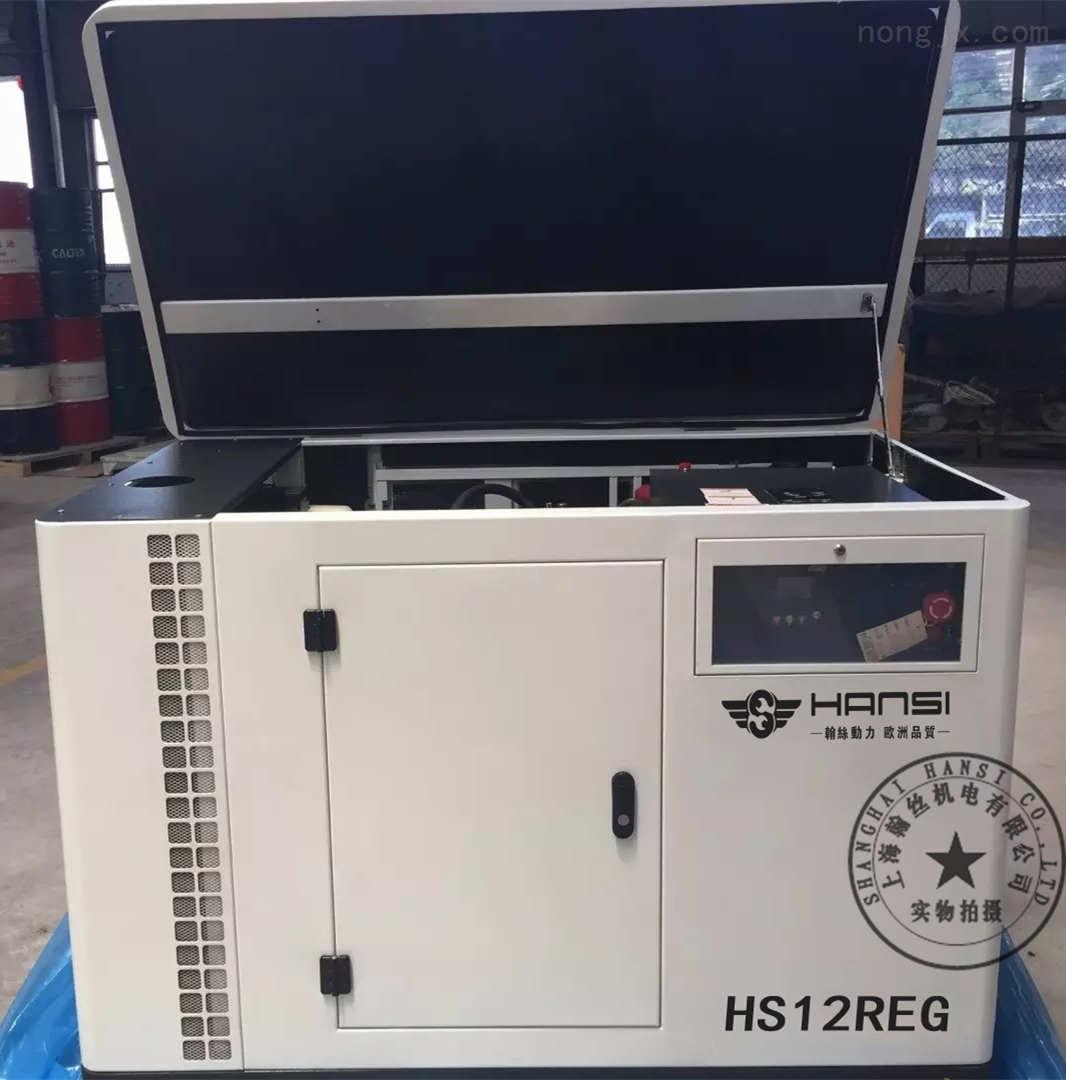 HS12REG型号小型12kw燃气发电机