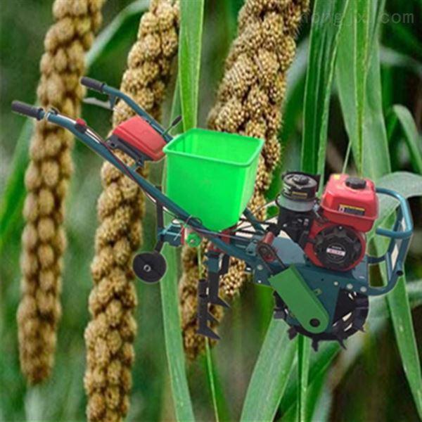 自走式高粱施肥精播机