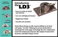 美国KM碟式称重传感器LD3