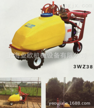 筑水3WZ38轮式自走式喷雾机 手推式打药机