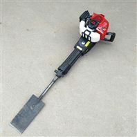 汽油链条式手提挖树机