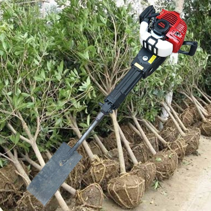 农用大马力链条起苗挖树机