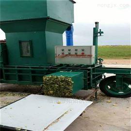 ZYD-100酒泉市小型青贮饲料机 自动青储打包机
