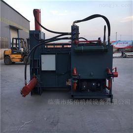 ZYD-100大型青储饲料打包机 青储压块机小型价格
