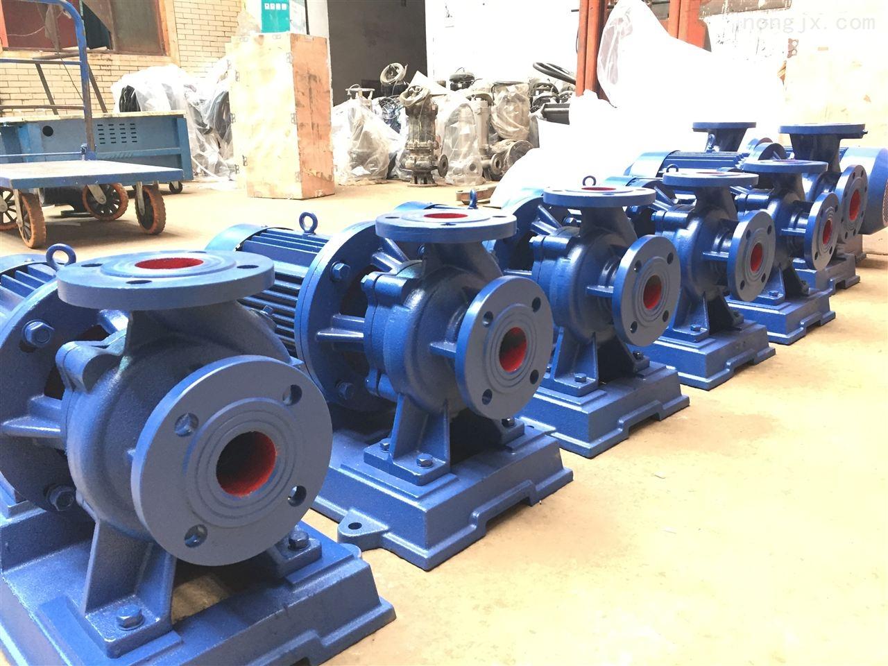 isw型卧式管道泵32-160管道式增压水泵厂家