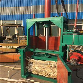 ZYD-10棉花自动上料液压打包机 单杠废纸液压机