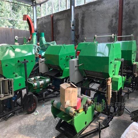 山東科陽養殖全自動玉米秸稈包膜一體機