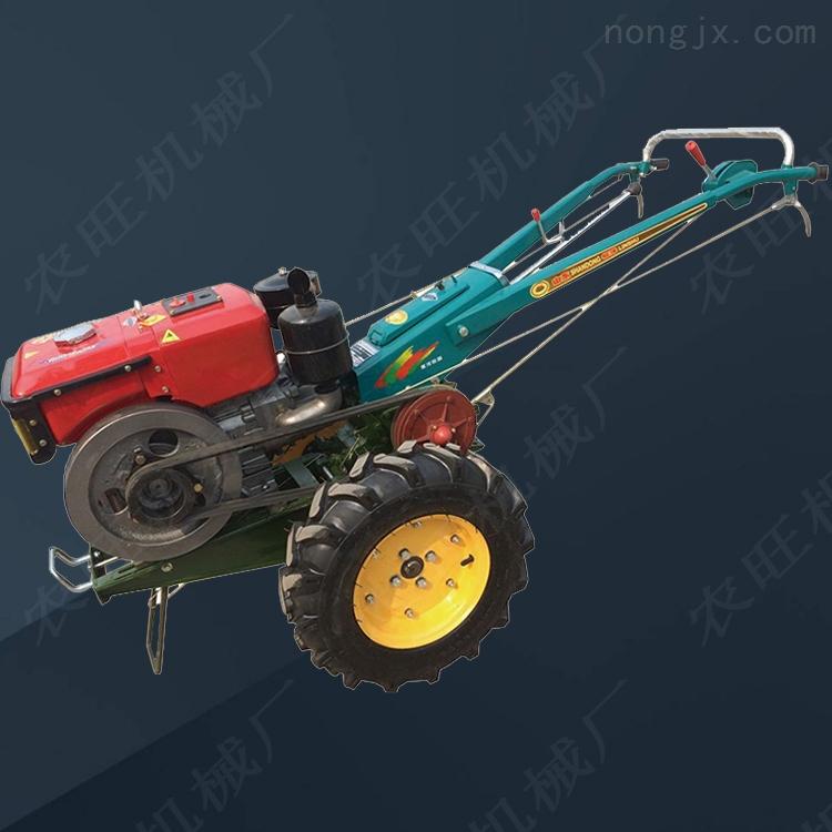 农用小型手扶开沟机 多功能手扶式旋耕翻土机